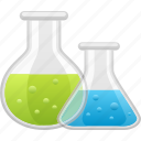 beaker, experiment, laboratory, research, science, test tube, vial icon