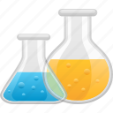beaker, experiment, laboratory, science, test tube, vial icon