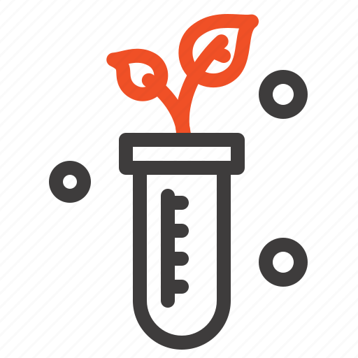 Lab, plant, science, tube icon - Download on Iconfinder