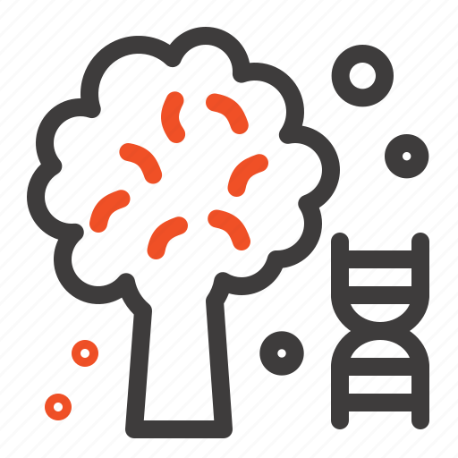 Dna, knowledge, science, tree icon - Download on Iconfinder