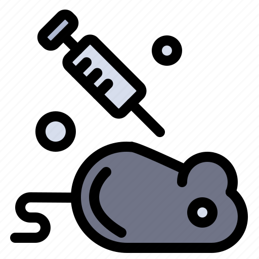experiment, laboratory, mouse, science icon