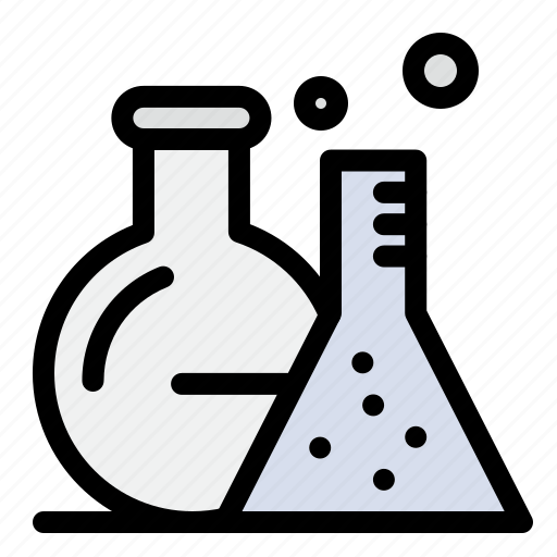 Flask, lab, science, tube icon - Download on Iconfinder