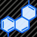 chemical, chemistry, element, laboratory, physics, scheme, science icon