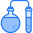 chemistry, flask, laboratory, physics, science, test, tube icon