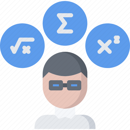 Chemistry, formula, laboratory, man, math, physics, science icon - Download on Iconfinder