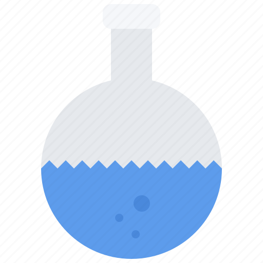 Chemistry, flask, laboratory, physics, science icon - Download on Iconfinder