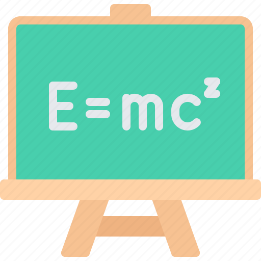 Blackboard, board, chemistry, formula, laboratory, physics, science icon - Download on Iconfinder