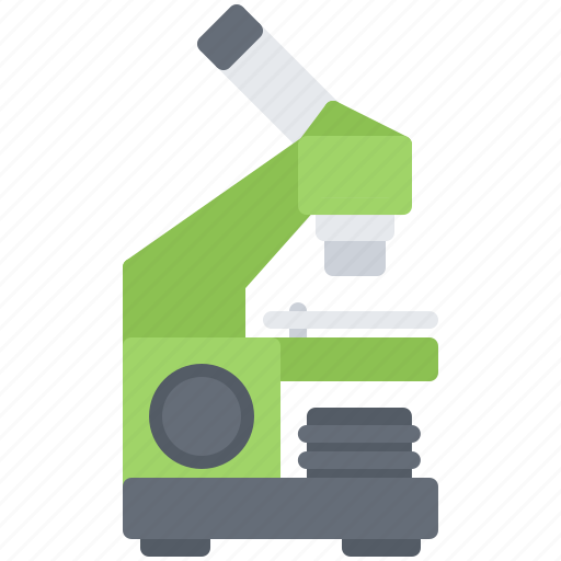 chemistry, laboratory, microscope, physics, science icon