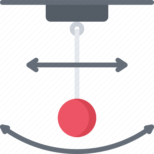 chemistry, laboratory, pendulum, physics, science icon
