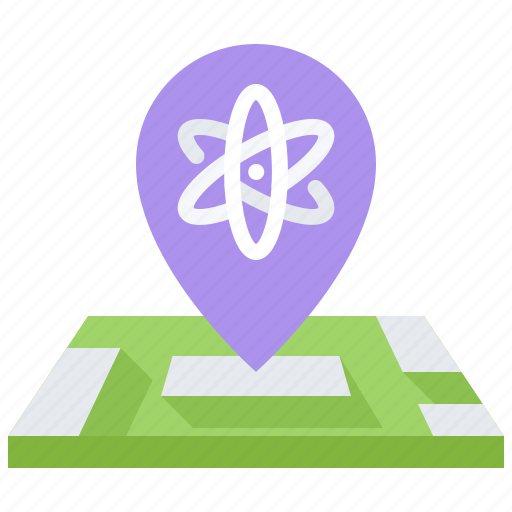 Chemistry, institute, laboratory, location, map, physics, science icon - Download on Iconfinder