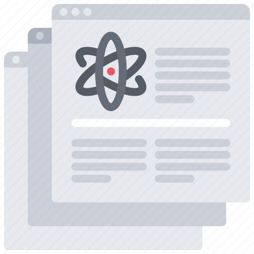 Article, chemistry, laboratory, physics, science, scientific, website icon - Download on Iconfinder