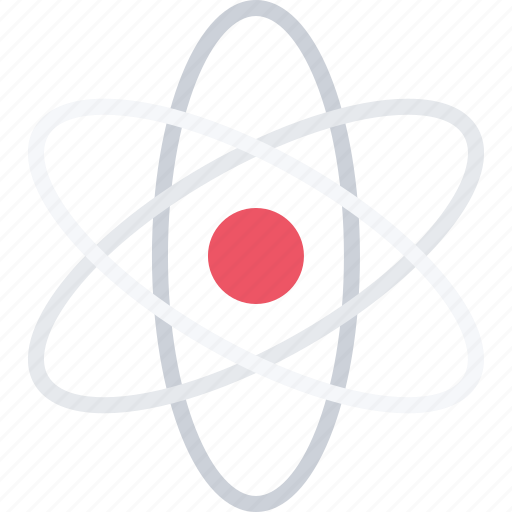 atom, chemistry, laboratory, nucleus, physics, science icon