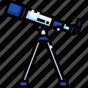 earth, geo, geography, globe, planet, telescope, world icon