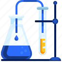chemical, chemistry, education, experiment, flask, laboratory, science icon