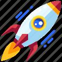 idea, innovation, launch, project, rocket, start, up