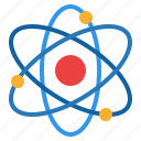 atom, nuclear, physic, science