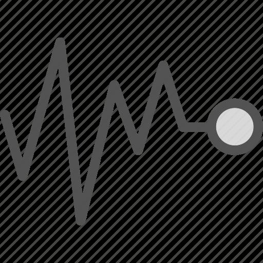 heartbeat, life, signal icon