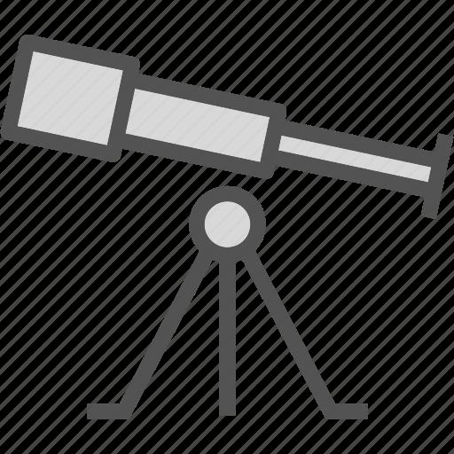 observe, space, star, telescope, universe, view icon