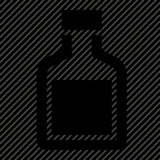 bottle, liquid, mixture, science icon