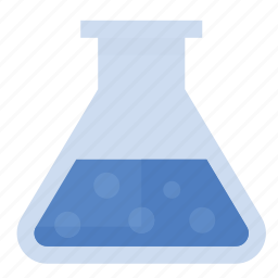 beaker, mixture, science, solution icon