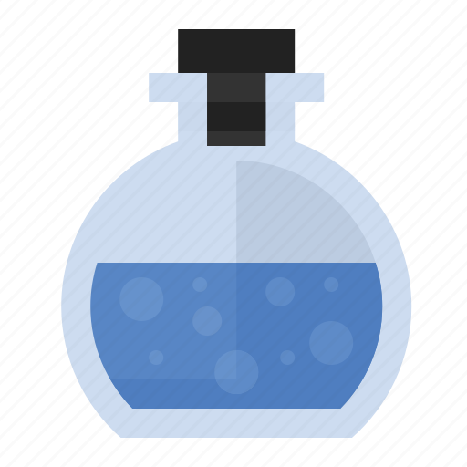 bottle, liquid, science, solution icon