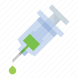 injection, needle, science, syringe icon