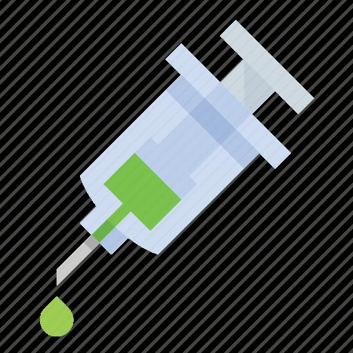 injection, needle, science, syringe icon