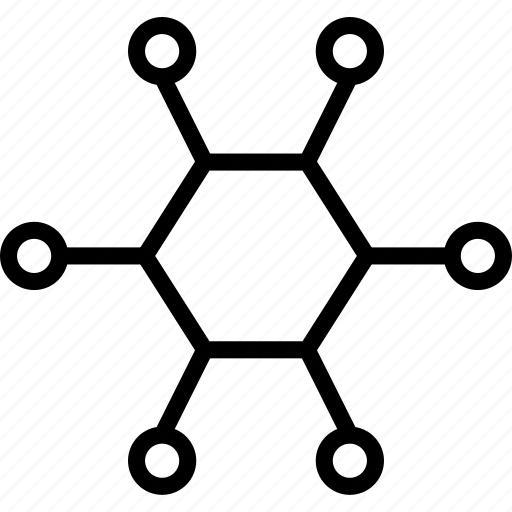 chemistry, connection, formula, science, structure icon
