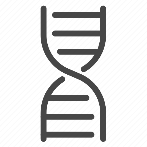 biology, chromosome, dna, genetics, genome, science icon