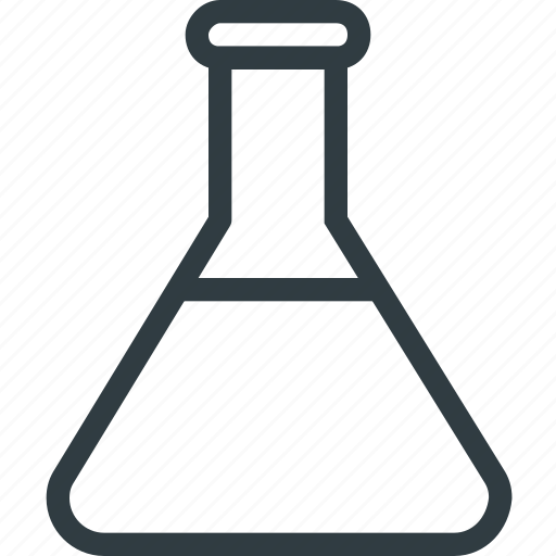 biology, chemistry, glass, science, test, tube icon