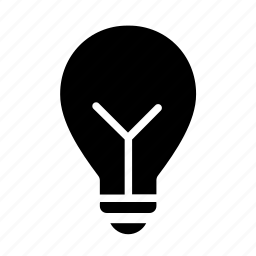 bulb, light bulb, science, tip icon