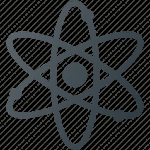 atom, molecule, orbit, science icon