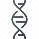 biology, dna, genetics, medical, science icon
