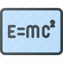 einstein, fizics, relativity, science, theory icon