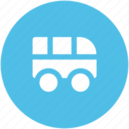 automobile, bus, journey, school mobile, transport, travel, vehicle icon