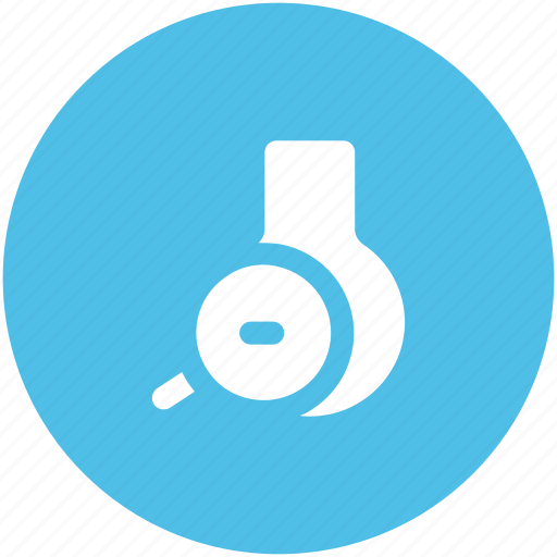 conical flask, elementary flask, erlenmeyer flask, lab accessories, lab equipment, lab flask, searching flask icon