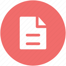 contract, document, file, note, shee, text document, text sheet icon