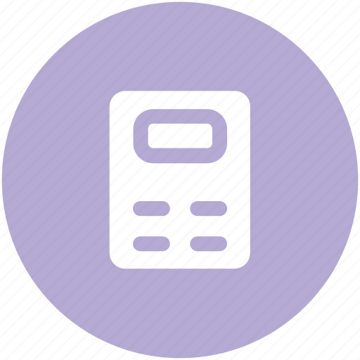 accounting, adding machine, calc, calculating machine, calculation, calculator, digital calculator icon