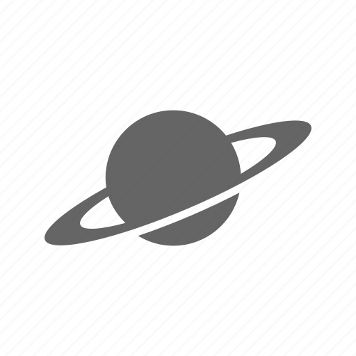 astronomy, cosmos, planet, saturn, science, space, spaceship icon