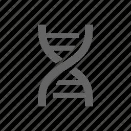 dna, healthcare, laboratory, medical, molecular, science icon