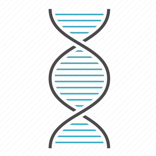biology, dna, genetic, genome, science icon