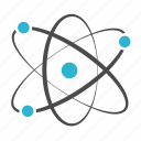 atom, chemistry, molecular, physics, science icon