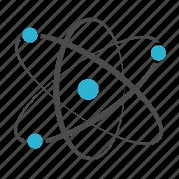 atom, chemistry, molecular, physics, science icon