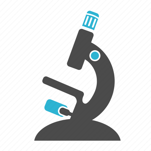 biology, chemistry, microscope, science icon