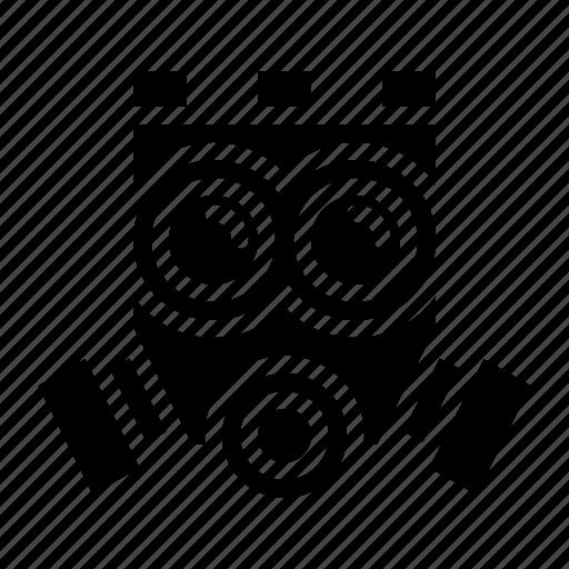 gas, mask, toxic icon