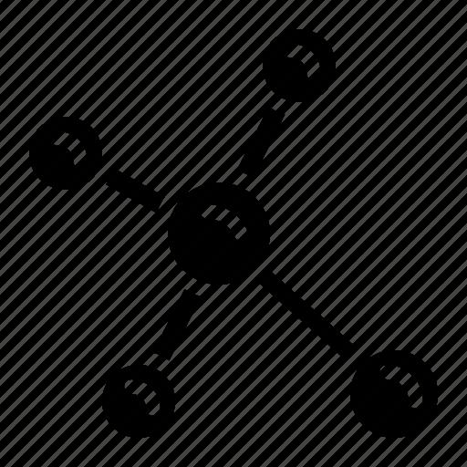 Biology, molecular, molecule, science icon - Download on Iconfinder