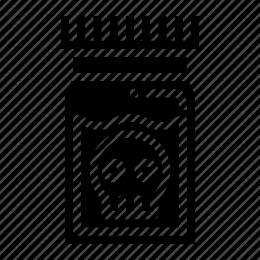 Dangerous, medical, poison, skull icon - Download on Iconfinder