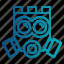 toxic, gas, mask icon