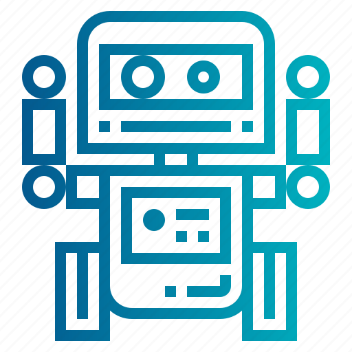 android, droid, robot, robotic icon