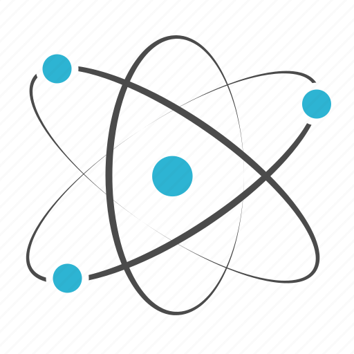 atom, chemistry, education, molecular, physics, research, science icon